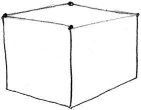 Как нарисовать домик 1