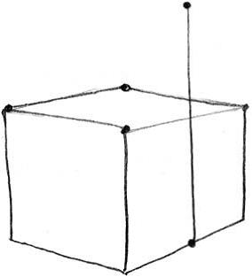 Как нарисовать домик 3