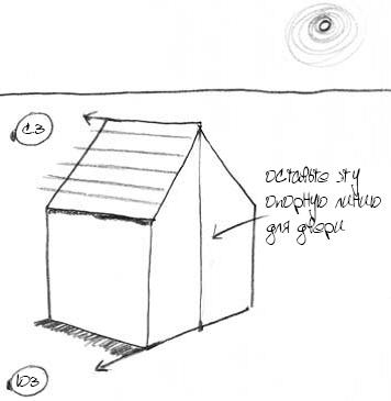 Как нарисовать домик 8