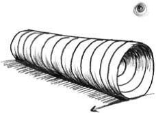 контурные трубы мини
