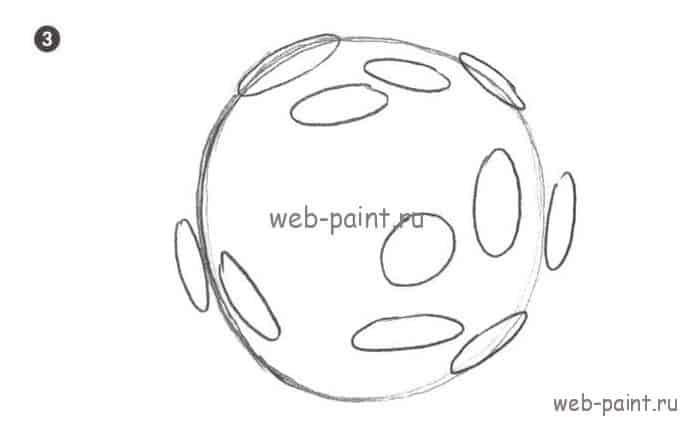 как нарисовать космос3