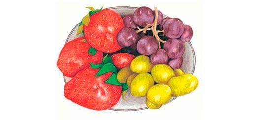 как-нарисовать-натюрморт-с-фруктами-цветными-карандашами-миниатюра