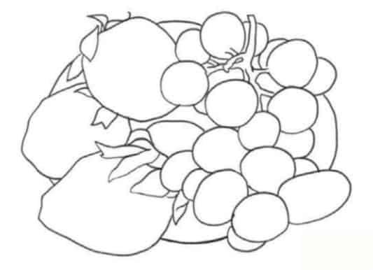 как-нарисовать-натюрморт-с-фруктами-цветными-карандашами1