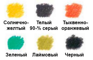 как-нарисовать-попугая-цветными-карандашами-палитра