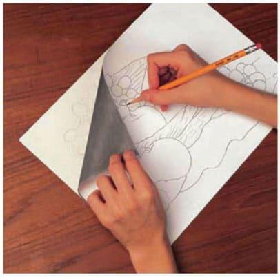 Как перенести рисунок на бумагу без копирки