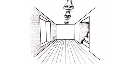 Как нарисовать комнату с мебелью поэтапно карандашом