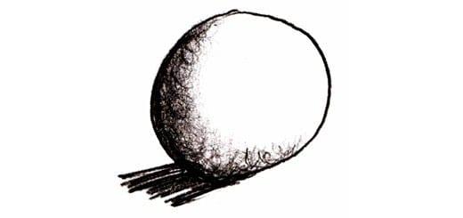 Как нарисовать сферу 3D карандашом поэтапно