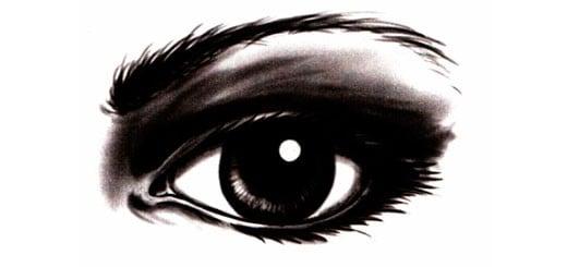 Как красиво нарисовать глаза карандашом поэтапно