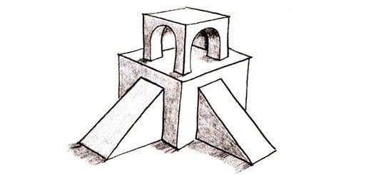 Как нарисовать трехмерный куб. Продвинутый уровень