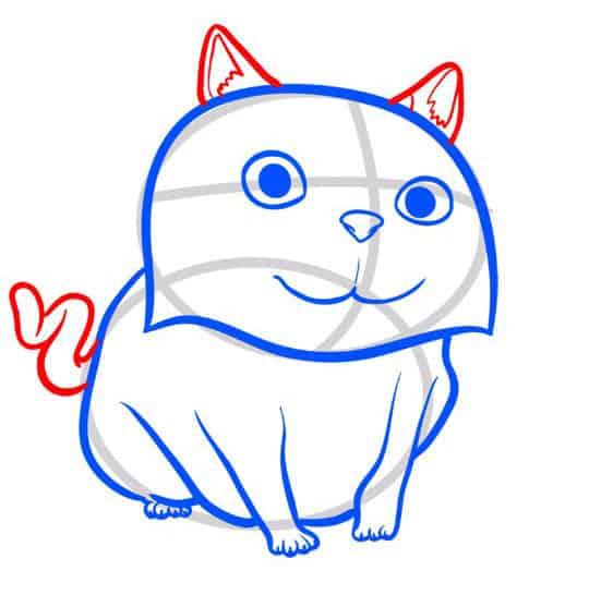 как-нарисовать-кота-мультик-дом3