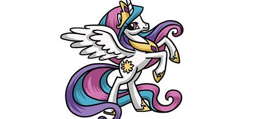 как-нарисовать-пони-селестия--мини