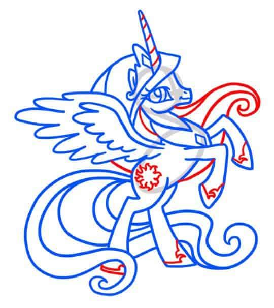 как-нарисовать-пони-селестия8