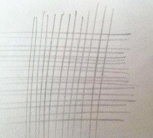 Пример неправильной штриховки