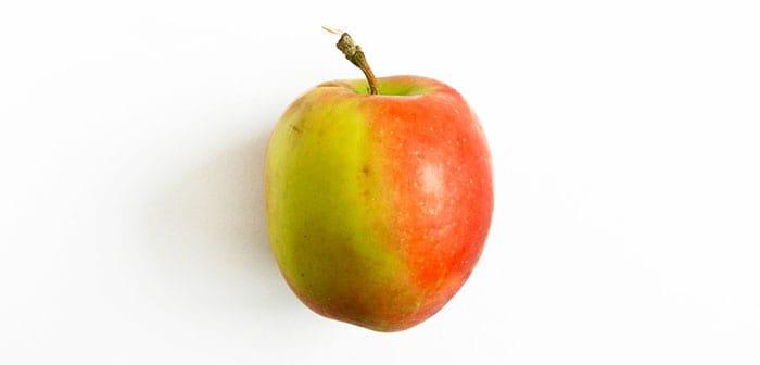 как нарисовать яблоко акварелью (1)