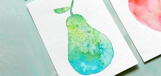 как-нарисовать-грушу-акварелью-(0)