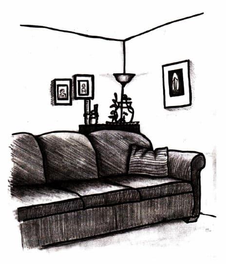 как нарисовать комнату (17)