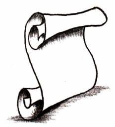 как нарисовать свиток (6)