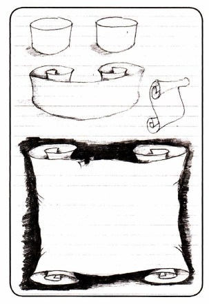 как нарисовать свиток (7)