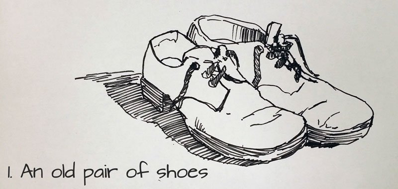 drawanoldpairofshoessketchbook1