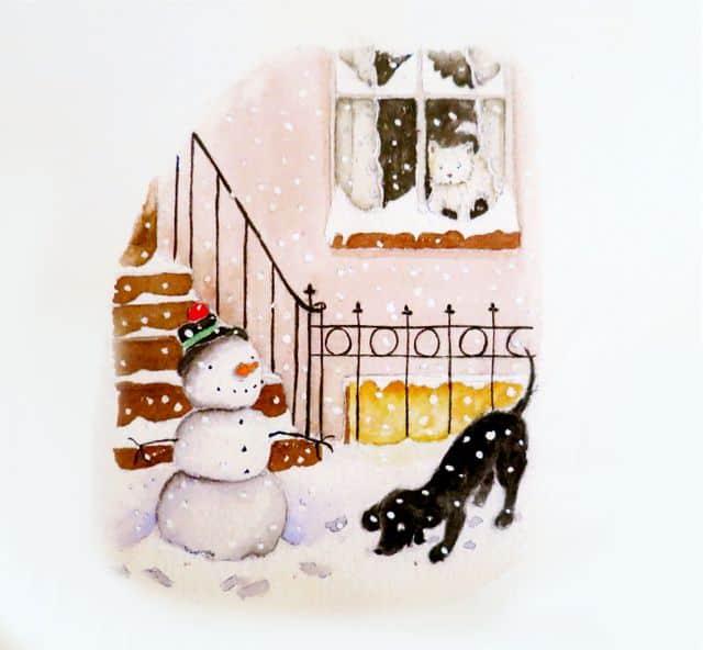 kak-narisovat-snegovika-1