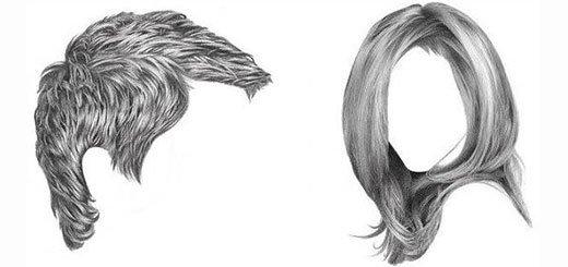 Як намалювати волосся реалістично: основи - уроки малювання