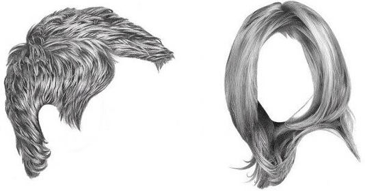 Drawing Hair for Beginners  Graphite and Colored Pencil