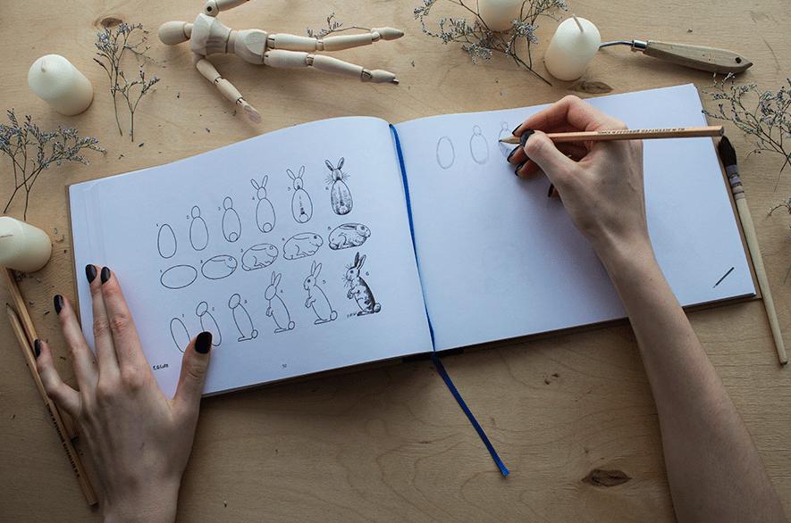 Как научиться рисовать карандашом с нуля, поэтапно