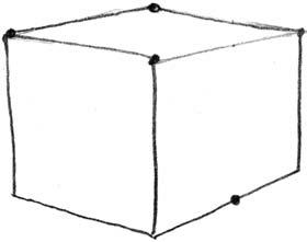 Как нарисовать домик 2