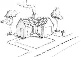 Рисуем дом.провинутый уровень10