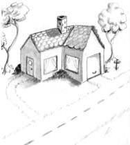 Рисуем дом.провинутый уровень14