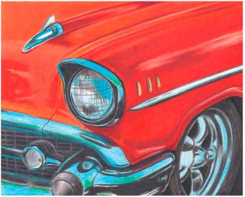 как-нарисовать-авто-цветными-карандашами