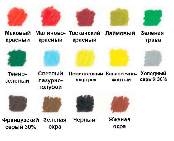 как-нарисовать-натюрморт-с-фруктами-цветными-карандашами