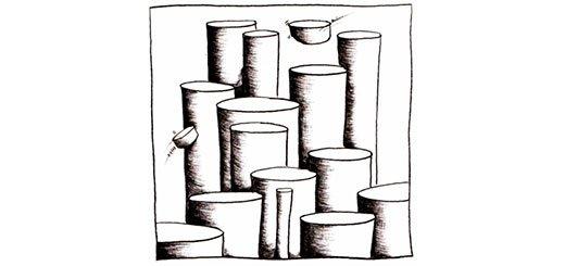 Как нарисовать цилиндр карандашом поэтапно. Продвинутый уровень