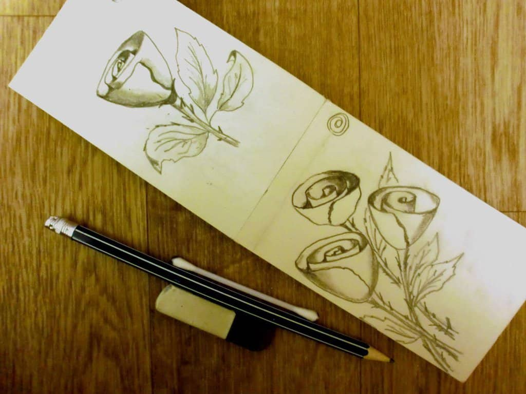 работы участников курса Научиться рисовать за 30 дней