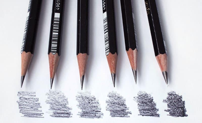 простые-карандаши