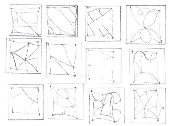 Все строки разные, как отпечатки пальцев. Одинаковых нет.