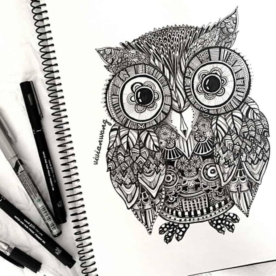 Курс рисования зентангл для начинающих. Что такое зентангл?