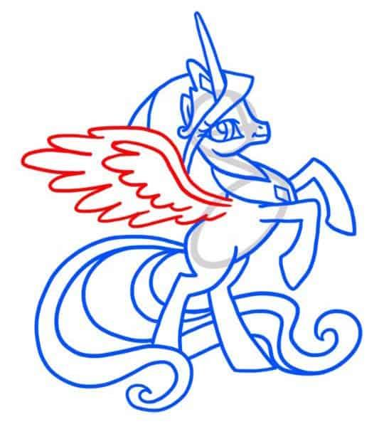 как-нарисовать-пони-селестия4