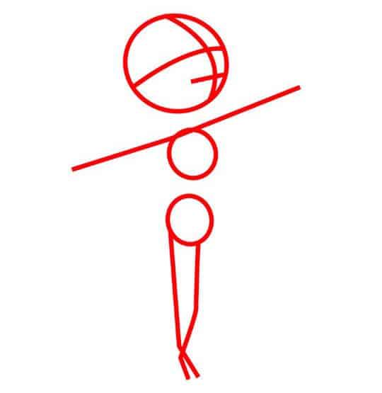 Как нарисовать радость из мультика «Головоломка»