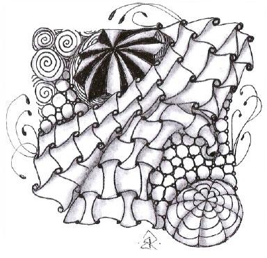День 18. Криволинейные геометрические узоры