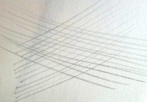Пример правильной перекрестной штриховки