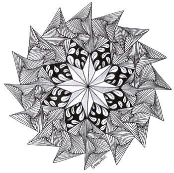 геометрические зендалы (2)