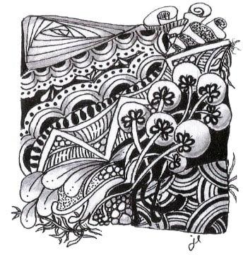 танглы на ткани (1)