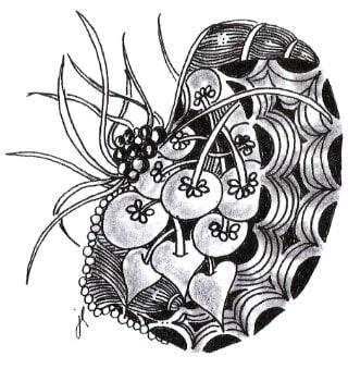 танглы на ткани (2)