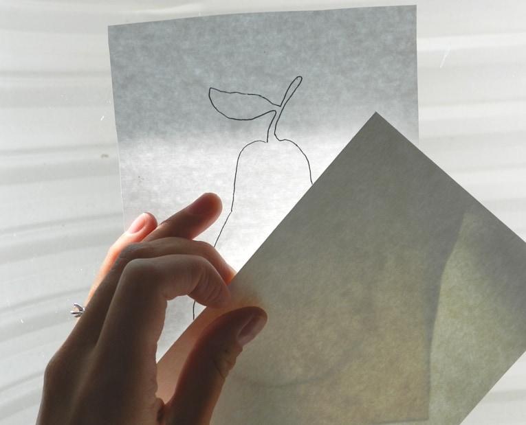 как нарисовать грушу акварелью (3)