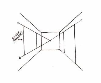 как нарисовать комнату (9)