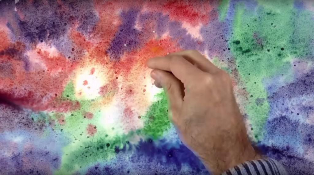 как нарисовать космос поэтапно