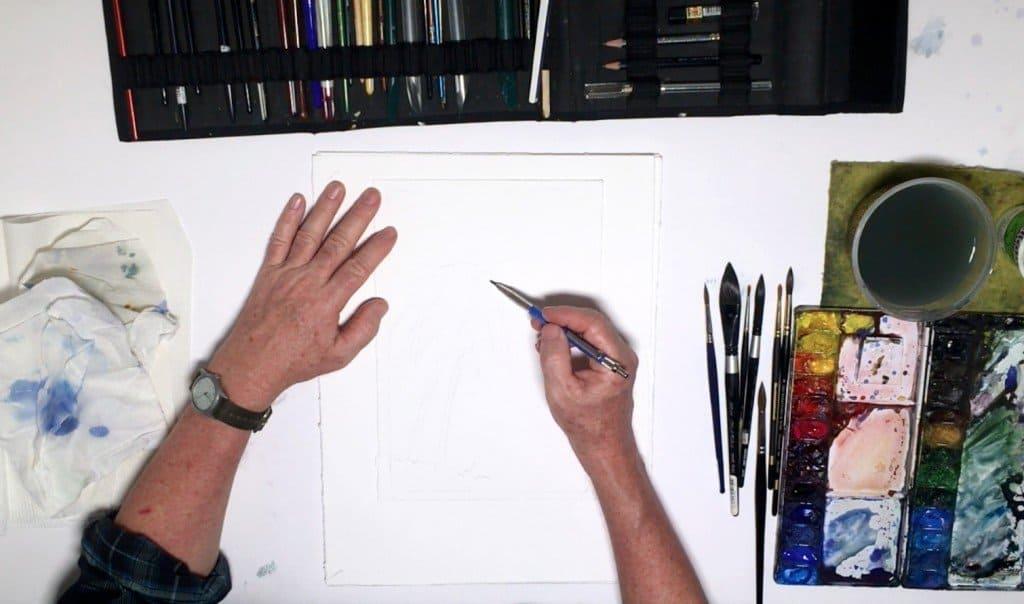 как нарисовать закат (2)