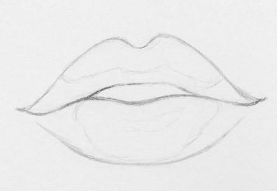 Как нарисовать губы: 10 простых шагов