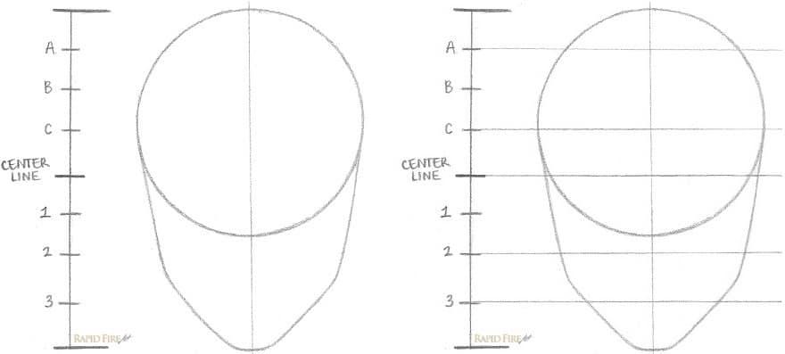 Как нарисовать лицо девушки за 8 простых шагов